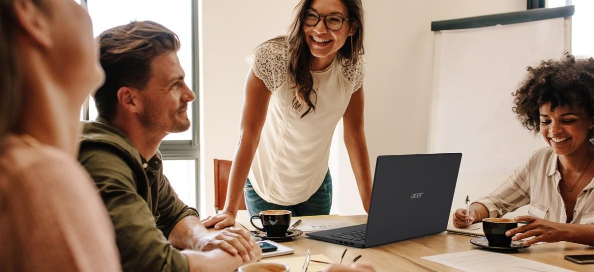 Acer dba o profesjonalistów. Te sprzęty są wprost stworzone dla ludzi w ciągłym biegu