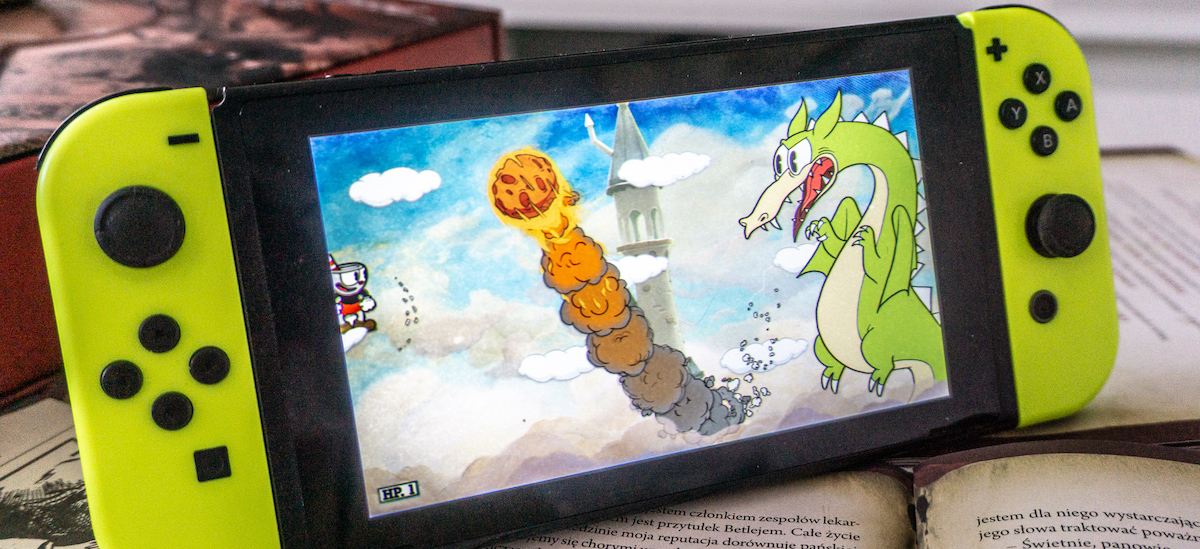 The game from Xbox One works on the Switch like gold. Cuphead seems to be created for a portable console - a review