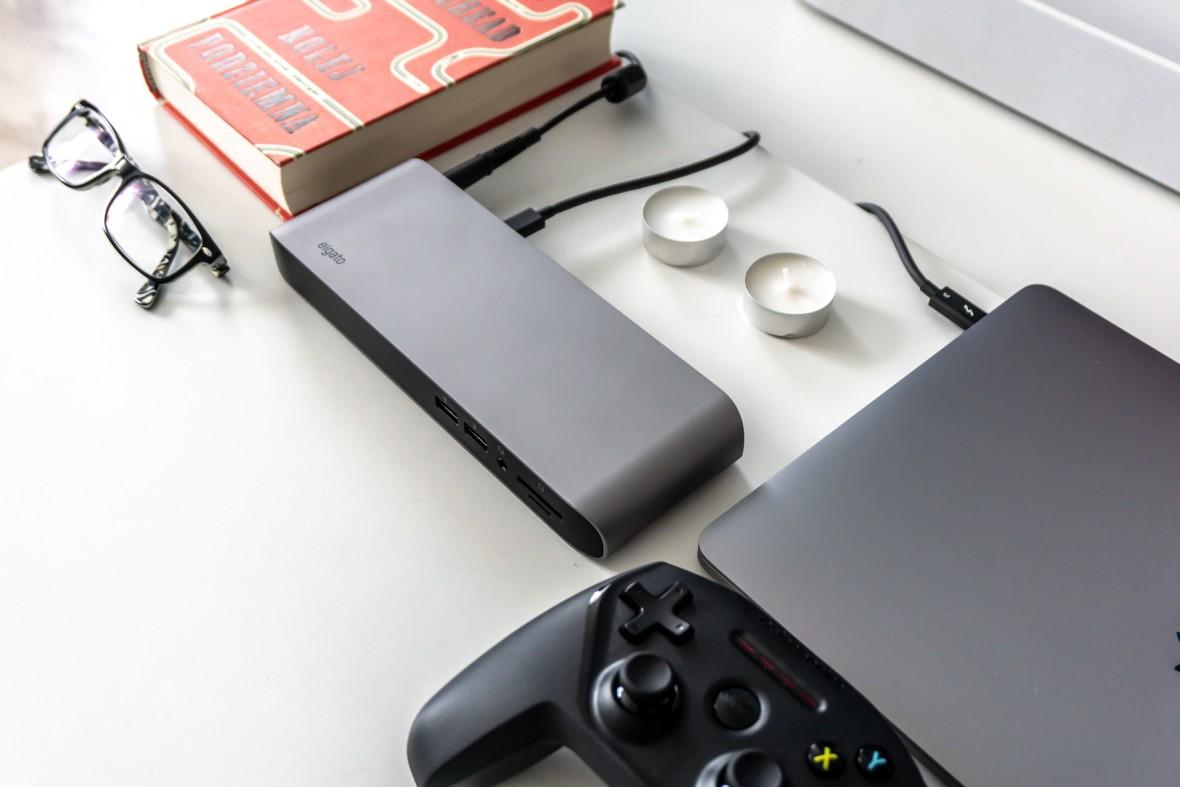 Elgato Thunderbolt Pro Dock to najlepsza i najdroższa stacja dokująca do MacBooka