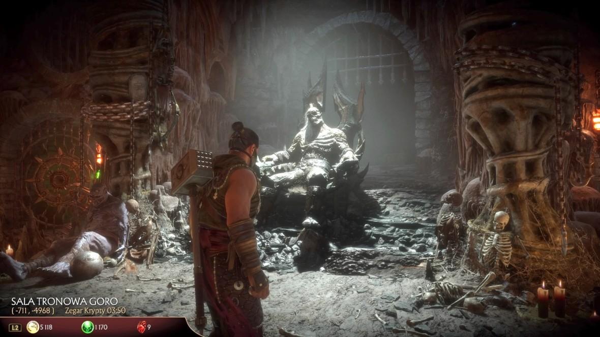 Nie przypuszczałem, że Krypta w Mortal Kombat 11 będzie aż tak dobra. Czułem się jak w filmie z 1995 roku
