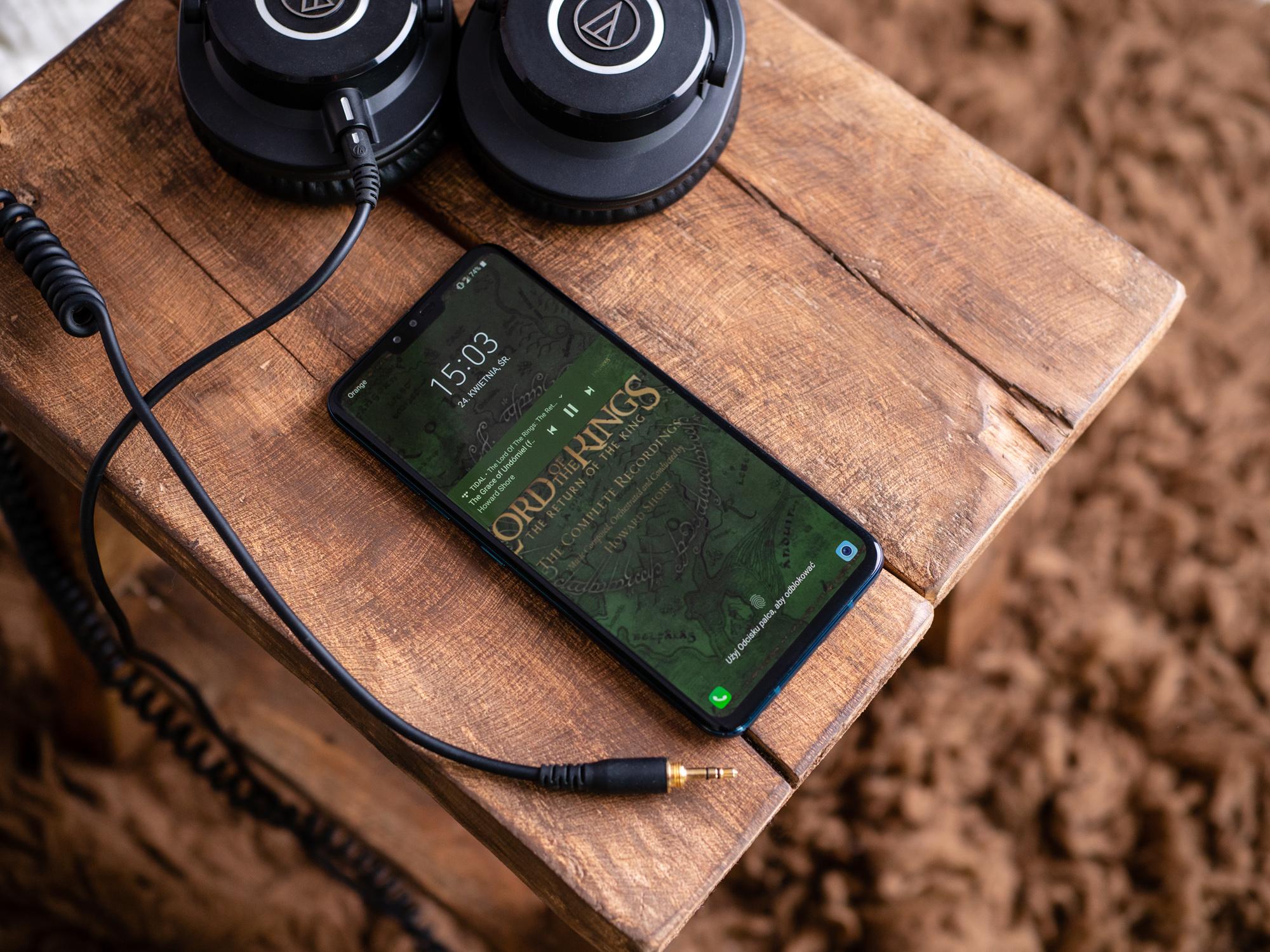 Tidal Masters i LG V40 to raj dla audiofila