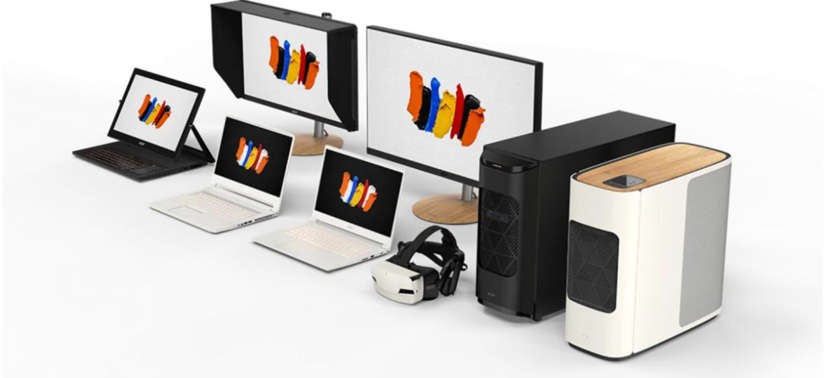 Acer pokazał sprzęty, które chciałbym postawić na własnym biurku. Oto ConceptD – maszyny dla kreatywnych profesjonalistów