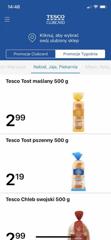 aplikacje zakupy 5 tesco