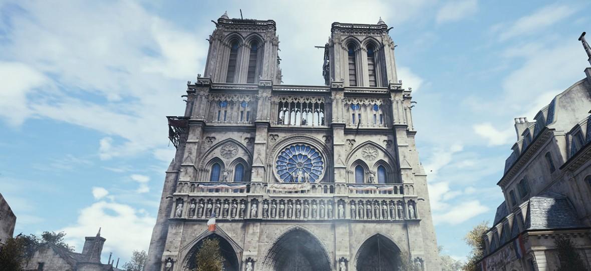 Assassin's Creed Unity za darmo na PC. A to dopiero początek ratowania Notre Dame