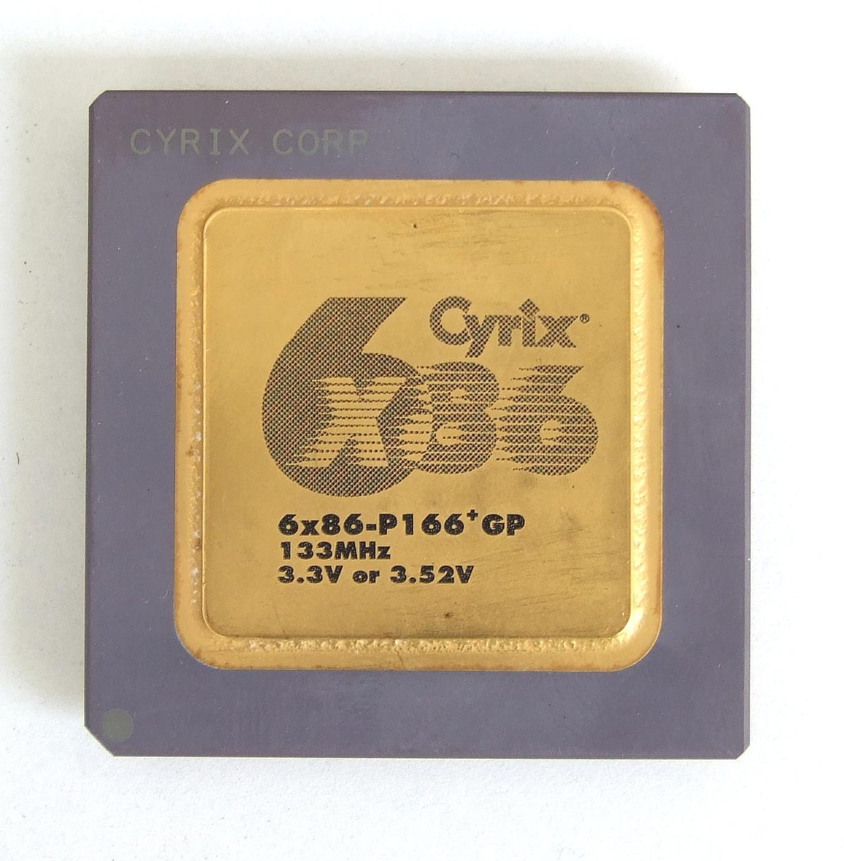 cyrix procesory historia
