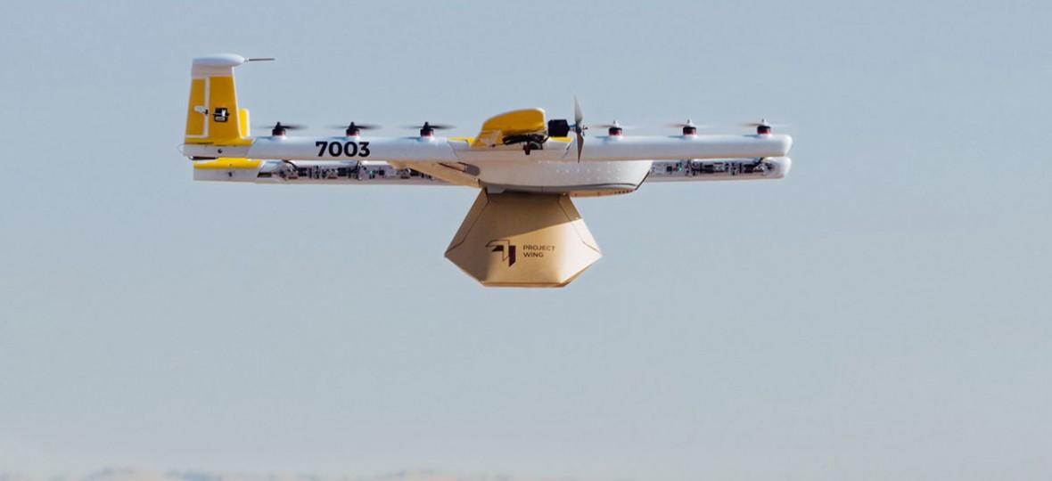 Jedzenie, leki i kawa – drony Google'a dostarczają już pierwsze zamówienia. Project Wing wystartował