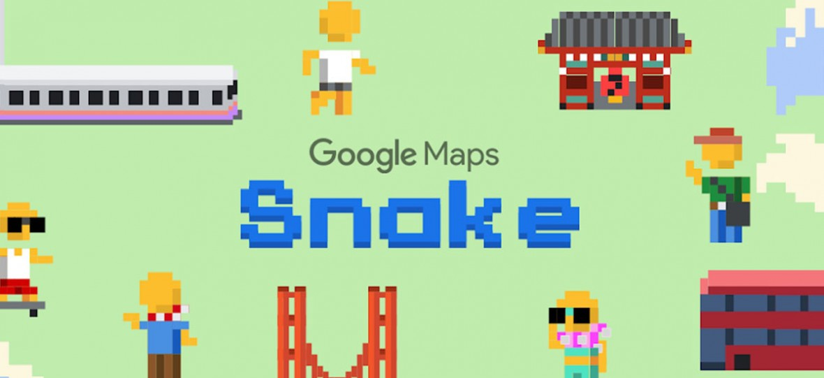 W Mapach Google zagramy dziś w kultowego węża