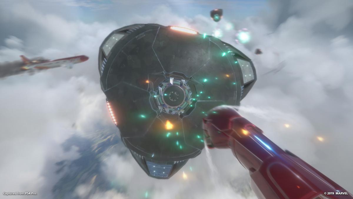 marvel's iron man vr playstation psvr