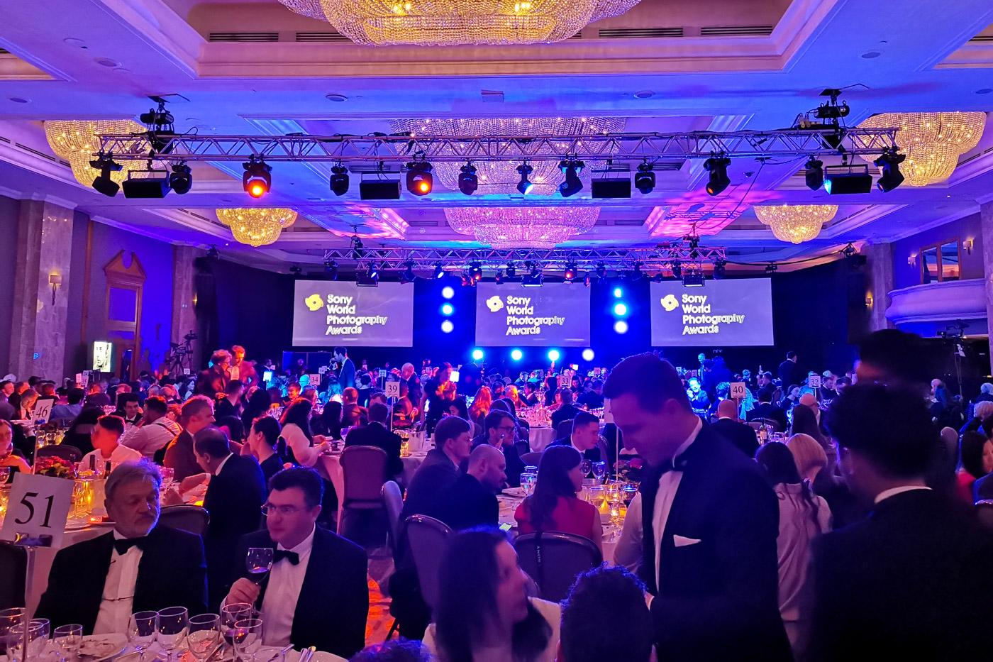 Finałowa gala Sony World Photography Awards 2019.
