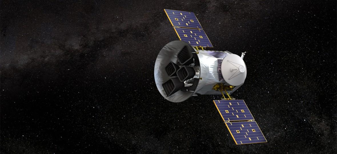 Satelita TESS znalazła pierwszą egzoplanetę, która rozmiarem przypomina Ziemię
