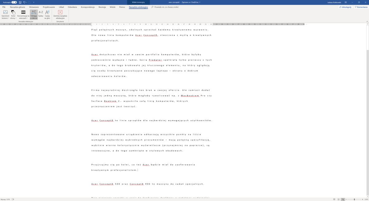 Microsoft Word - narzędzia edukacyjne