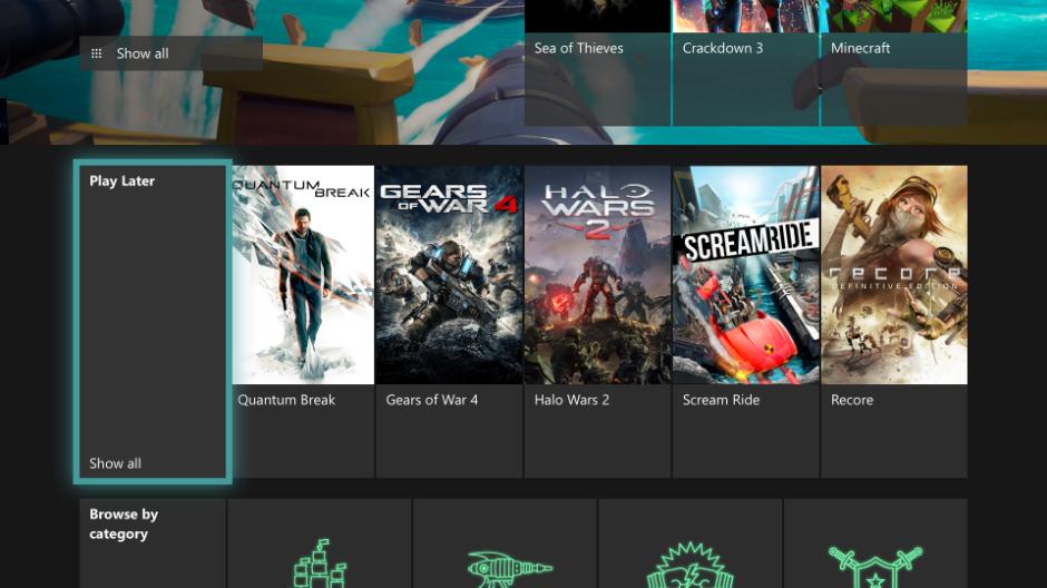xbox one aktualizacja wiosna 2019