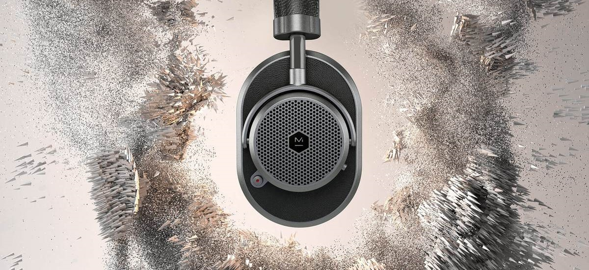 The appearance counts here  Master & Dynamic showed its first model of  headphones with noise reduction