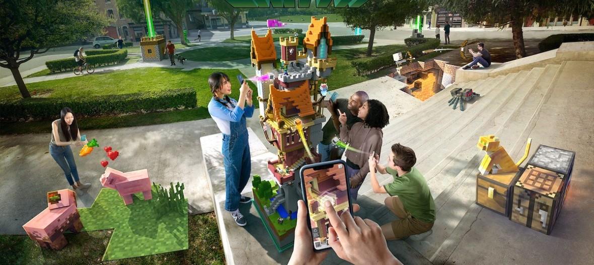 Oto Minecraft Earth – gra mobilna Microsoftu, która może przyćmić Pokemon GO wielkimi możliwościami