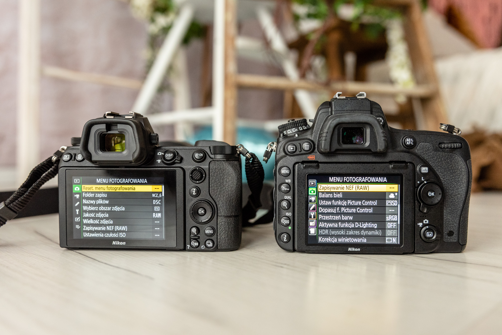 Nikon Z6 czy Nikon D750