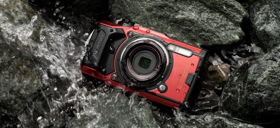 Olympus Tough TG-6 to nowy aparat z którym można nurkować, a potem rzucić go na plażę