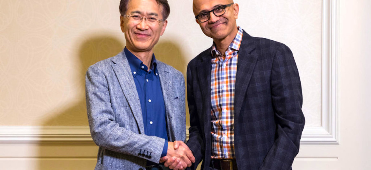Sukces Microsoftu zależy od sukcesów Sony. Dlatego producent PlayStation zaufał konkurentowi