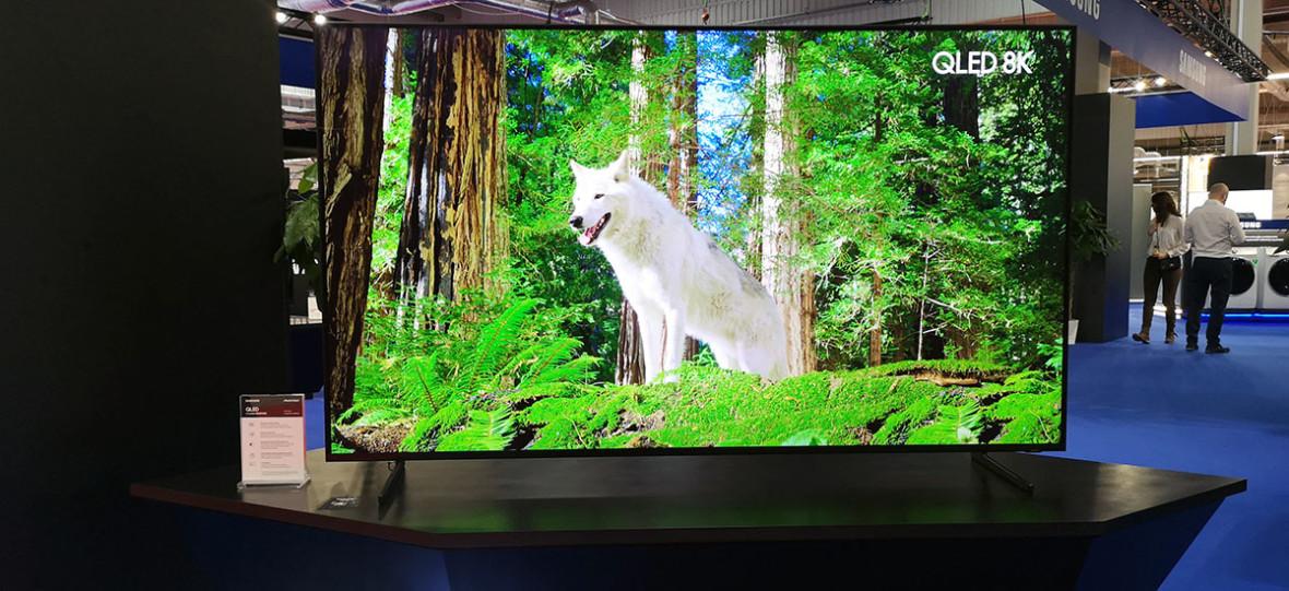 Ściema czy rewolucja? Samsung pokazuje telewizory 8K na targach Electronics Show 2019