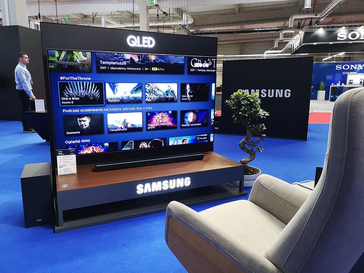 electronics show 2019 qled 8k
