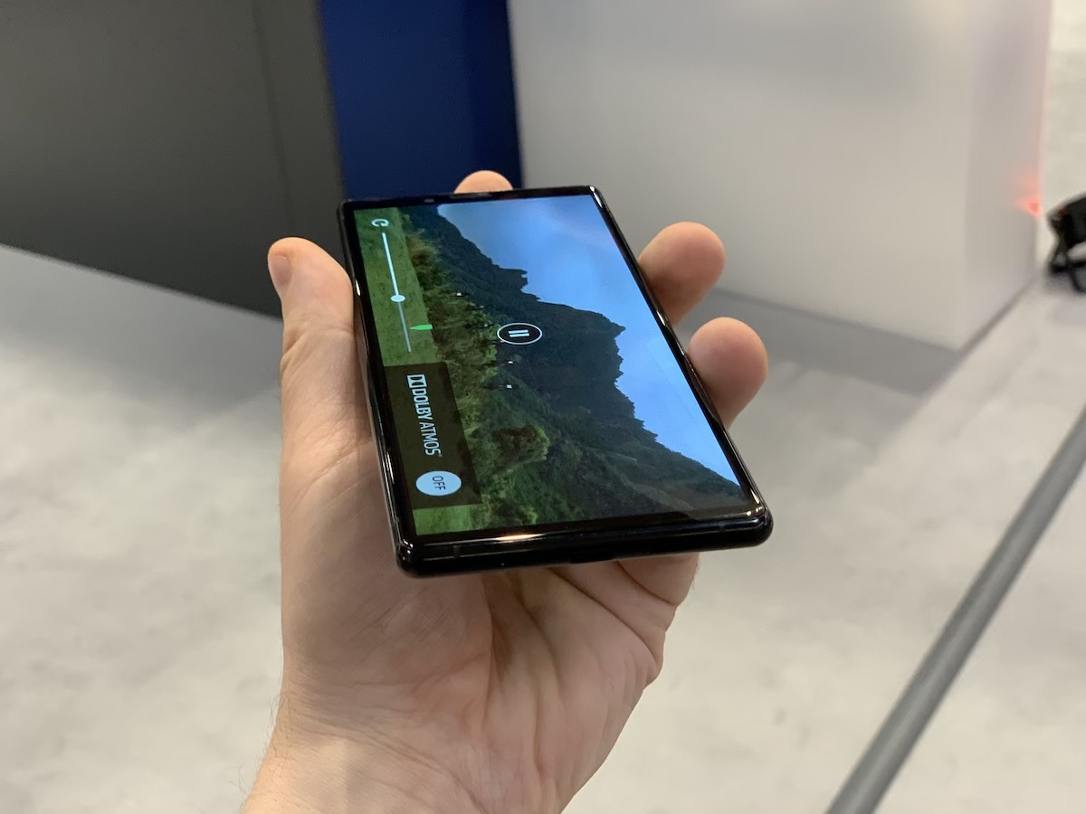 electronics show 2019 xperia 1 smartfon