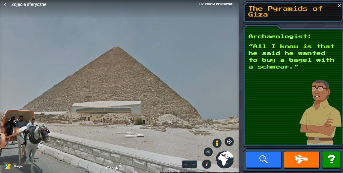 Darmowa gra Carmen Sandiego w Google Earth