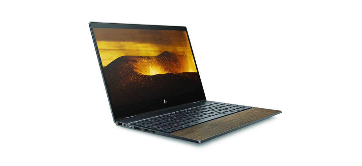 Co robi boazeria w laptopie? Według HP ładnie wygląda – oto komputery HP Wood Series