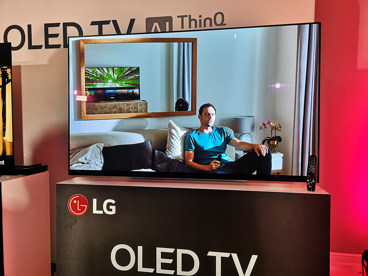 Organic algorithms  The image on the LG OLED TV TV sets artificial  intelligence