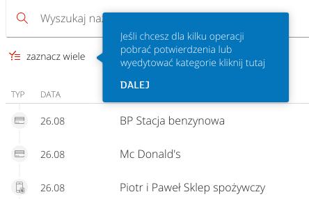 mbank nowy panel