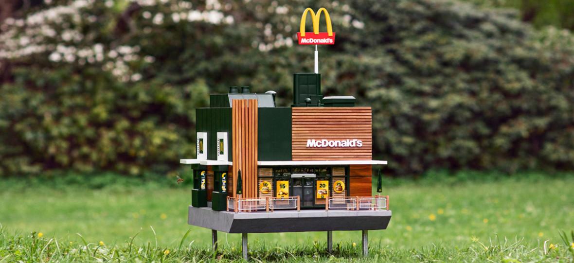 McDonald's otworzył restaurację dla pszczół. To najmniejszy fast food na świecie