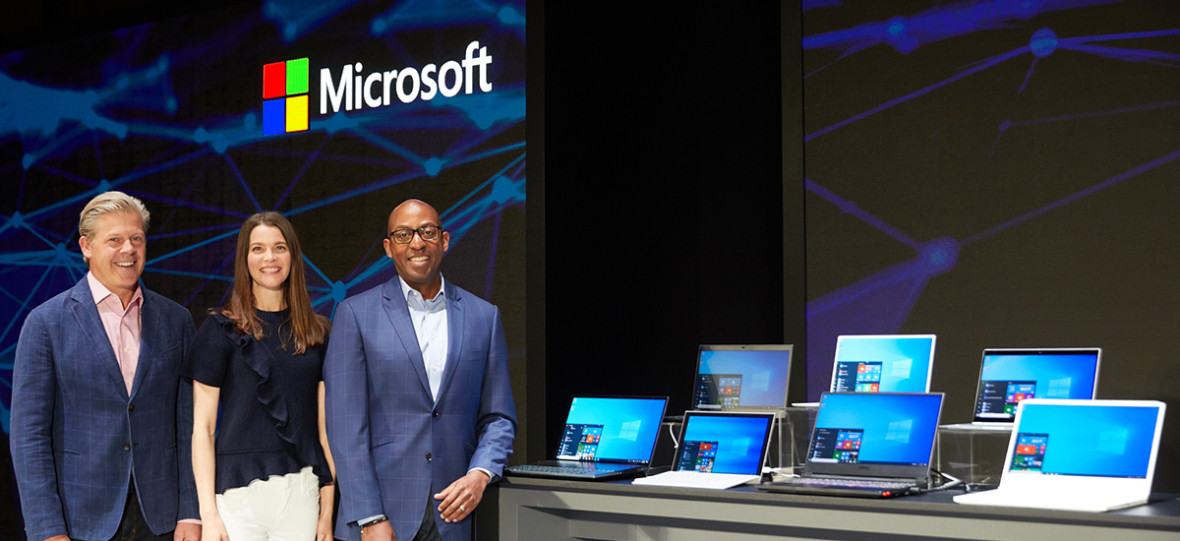 """Microsoft opowiadając o swoim nowym systemie operacyjnym nie użył ani razu słowa """"Windows"""""""