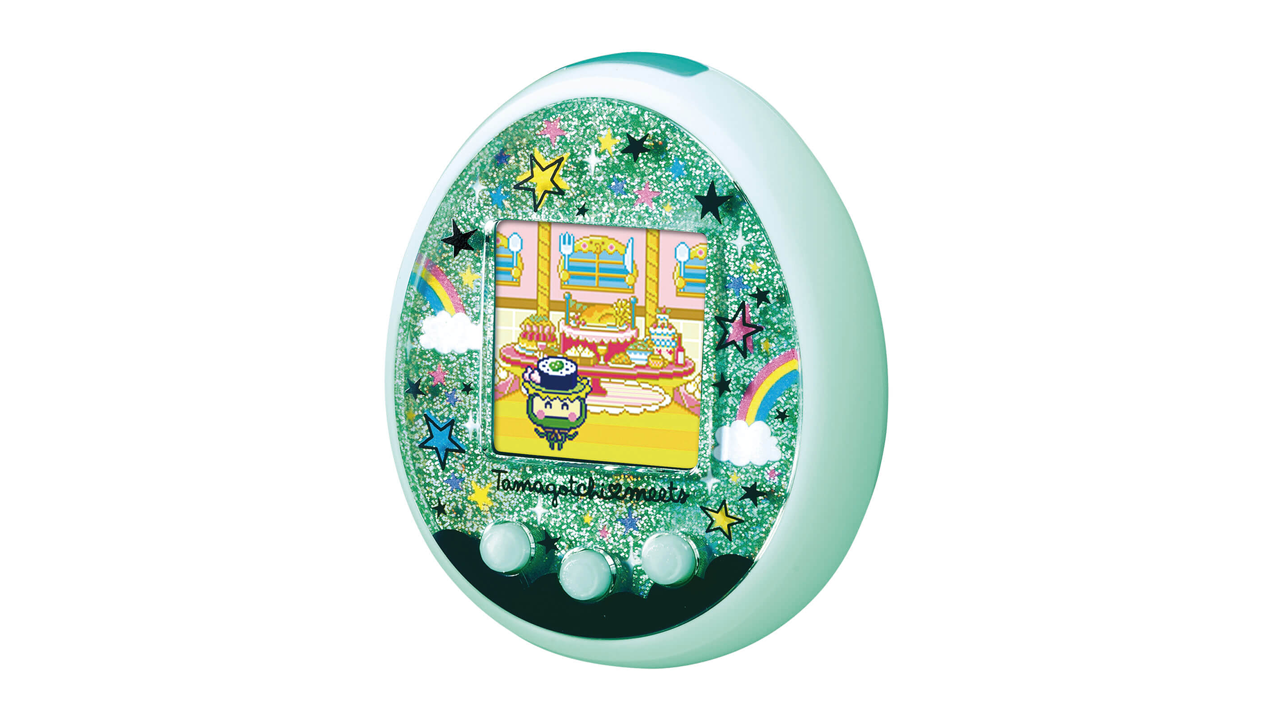Tamagotchi is back. This time it has Bluetooth and connects to the smartphone