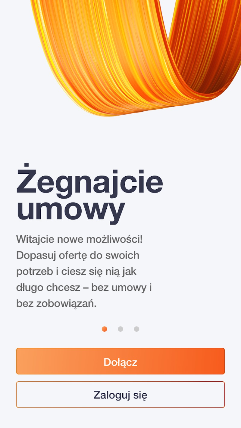 orange flex aplikacja app store iphone google play esim 4