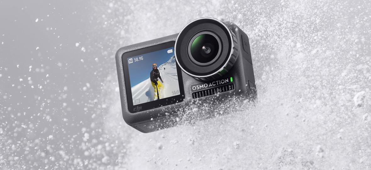 Nowa kamera sportowa DJI Osmo Action może być początkiem końca GoPro