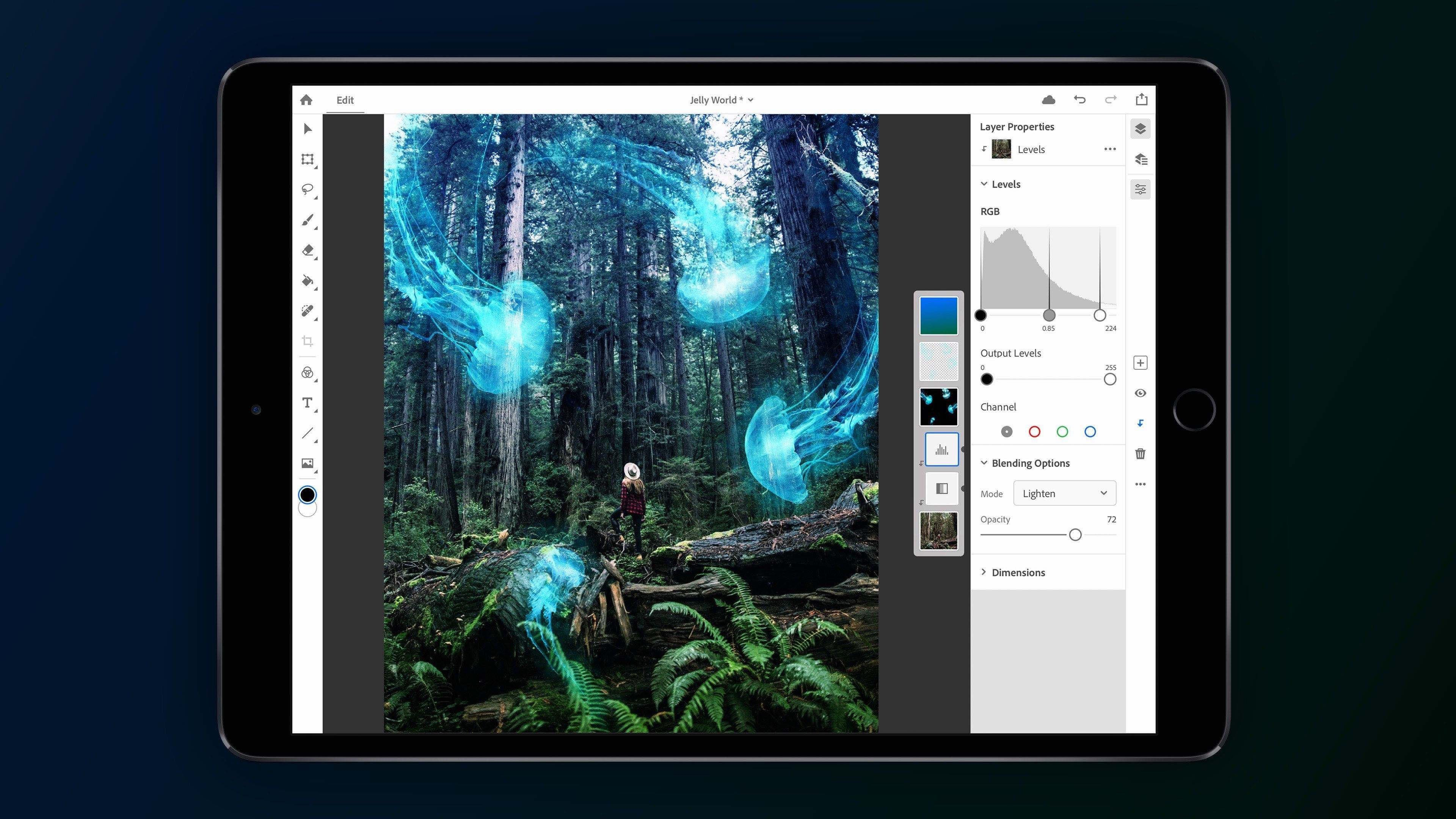 Photoshop for iPad