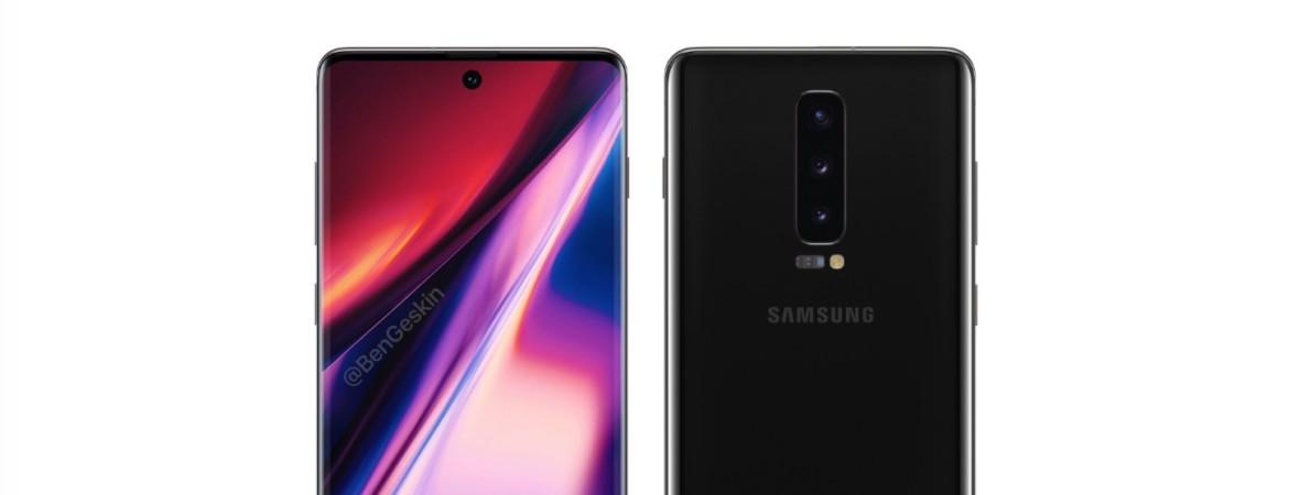 Samsung Galaxy Note 10 na pierwszych przeciekach. Szykuje się powrót symetrii