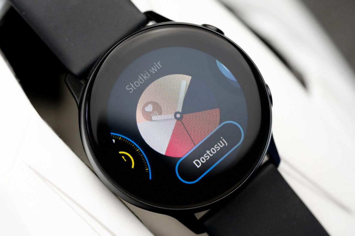 I tylko bezela brak. Samsung Galaxy Watch Active – recenzja