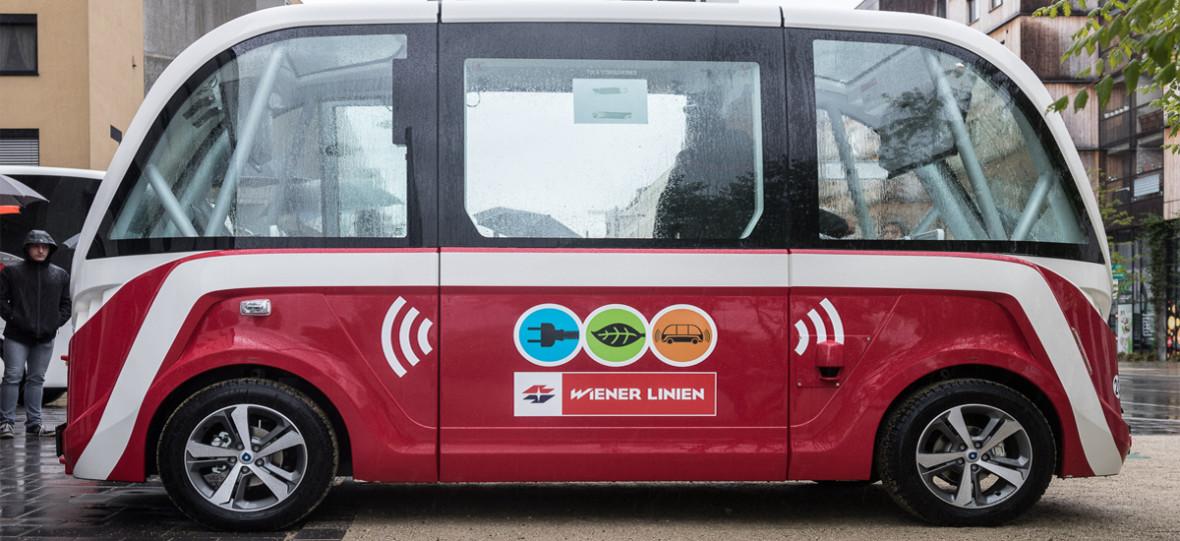 Tak wygląda i działa autonomiczny autobus, który wyjedzie na ulice Wiednia
