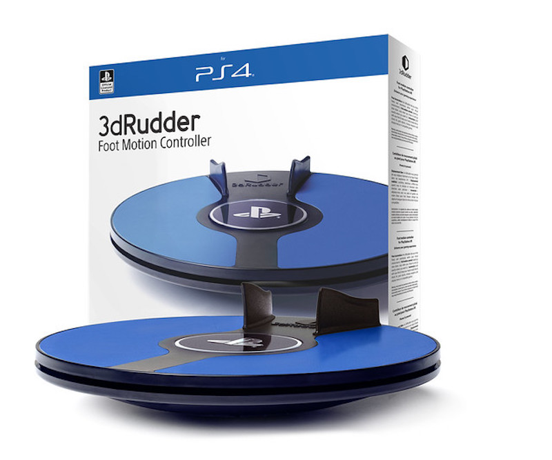 3dRudder psvr playstation vr 3