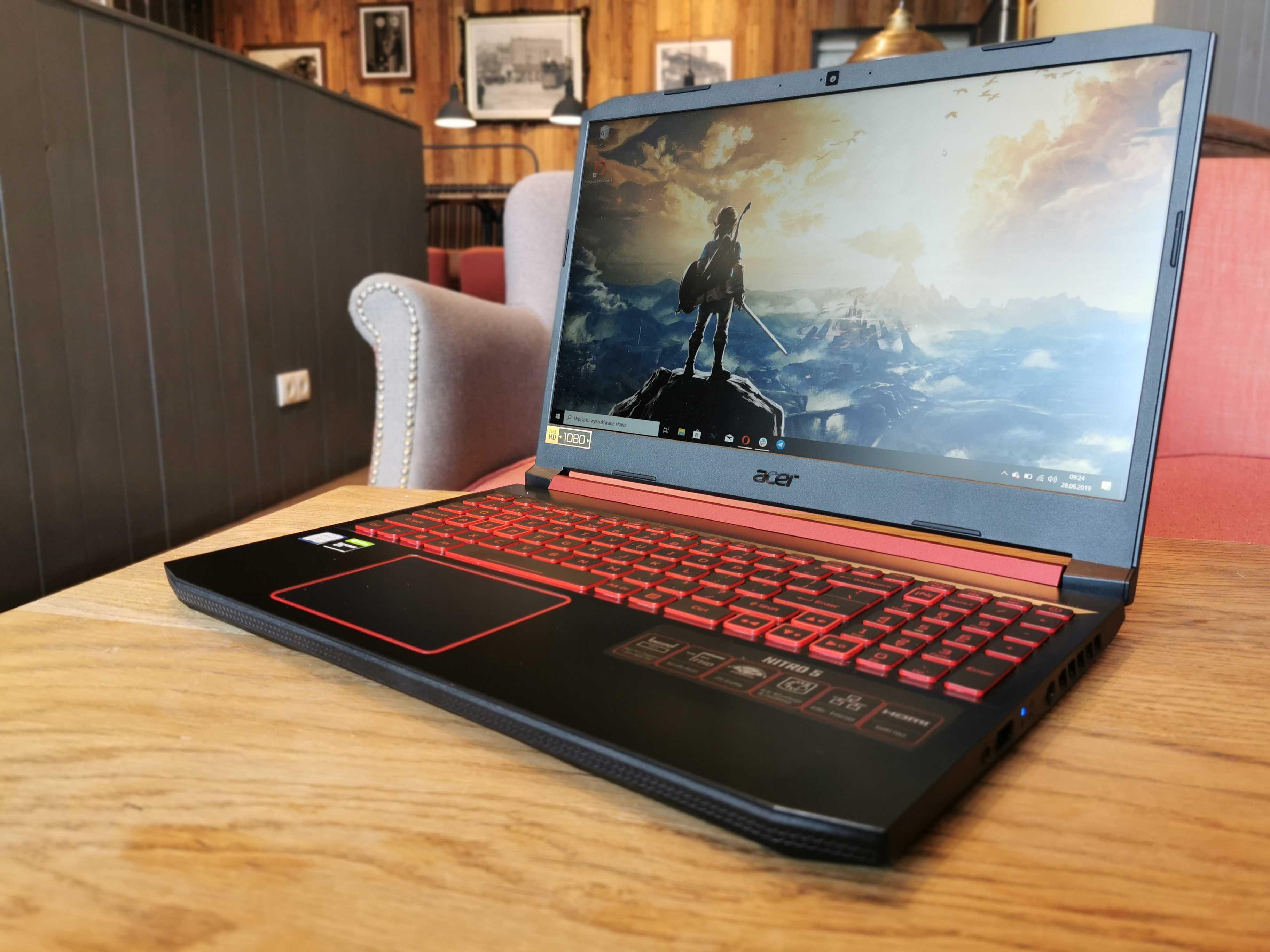 Nowy Acer Nitro 5 to świetny komputer do gier i nie tylko