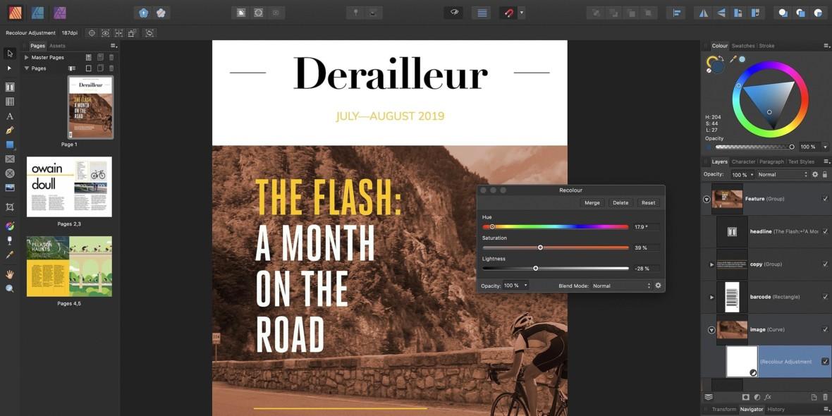 Serif pokazał Affinity Publishera, przyszłego zabójcę Adobe InDesign