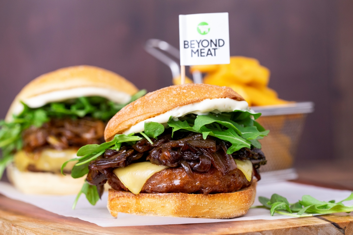 Beyond Burger - the new version is more meat than ever