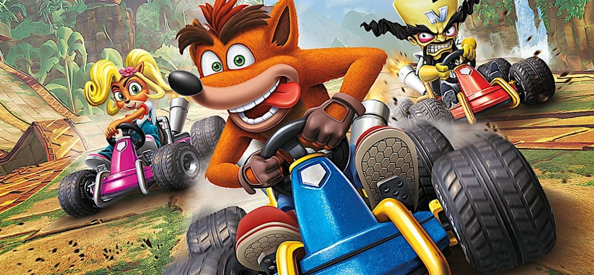 Image result for crash team racing nitro fueled review