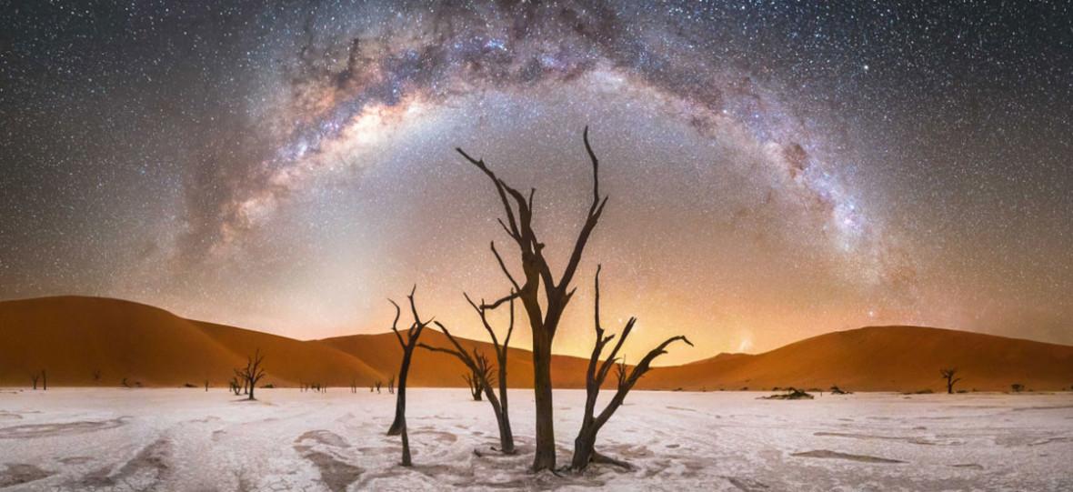 Fotografie, które przypominają nam, że prawdziwe gwiazdy sąna niebie, a nie ekranie smartfona