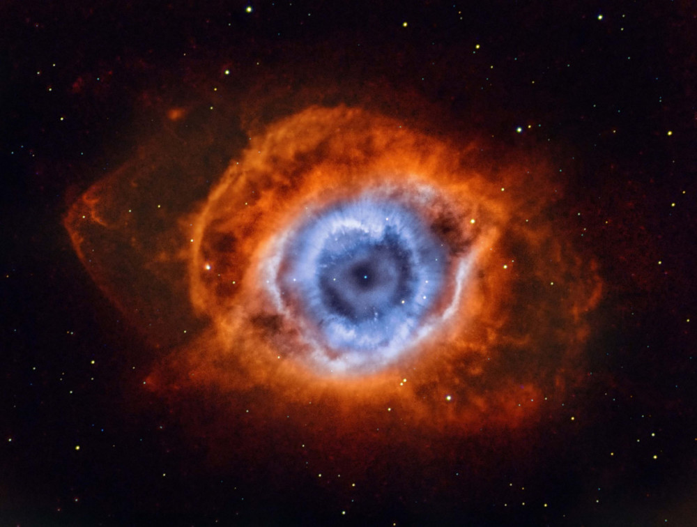 """Fot. Andrew Campell, """"Deep in the Heart of Mordor"""", NGC 7293"""