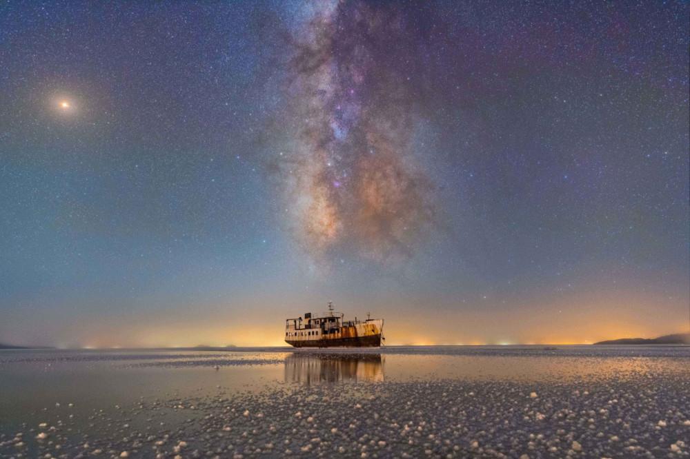 Fot. Masoud Ghadiri, Port Sharafkhane i jezioro Urmia