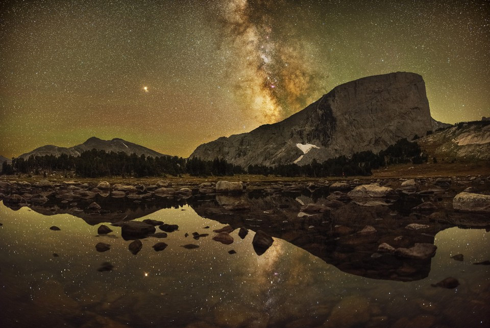 """Fot. Marc Toso, """"Reflections of Mount Hooker"""""""