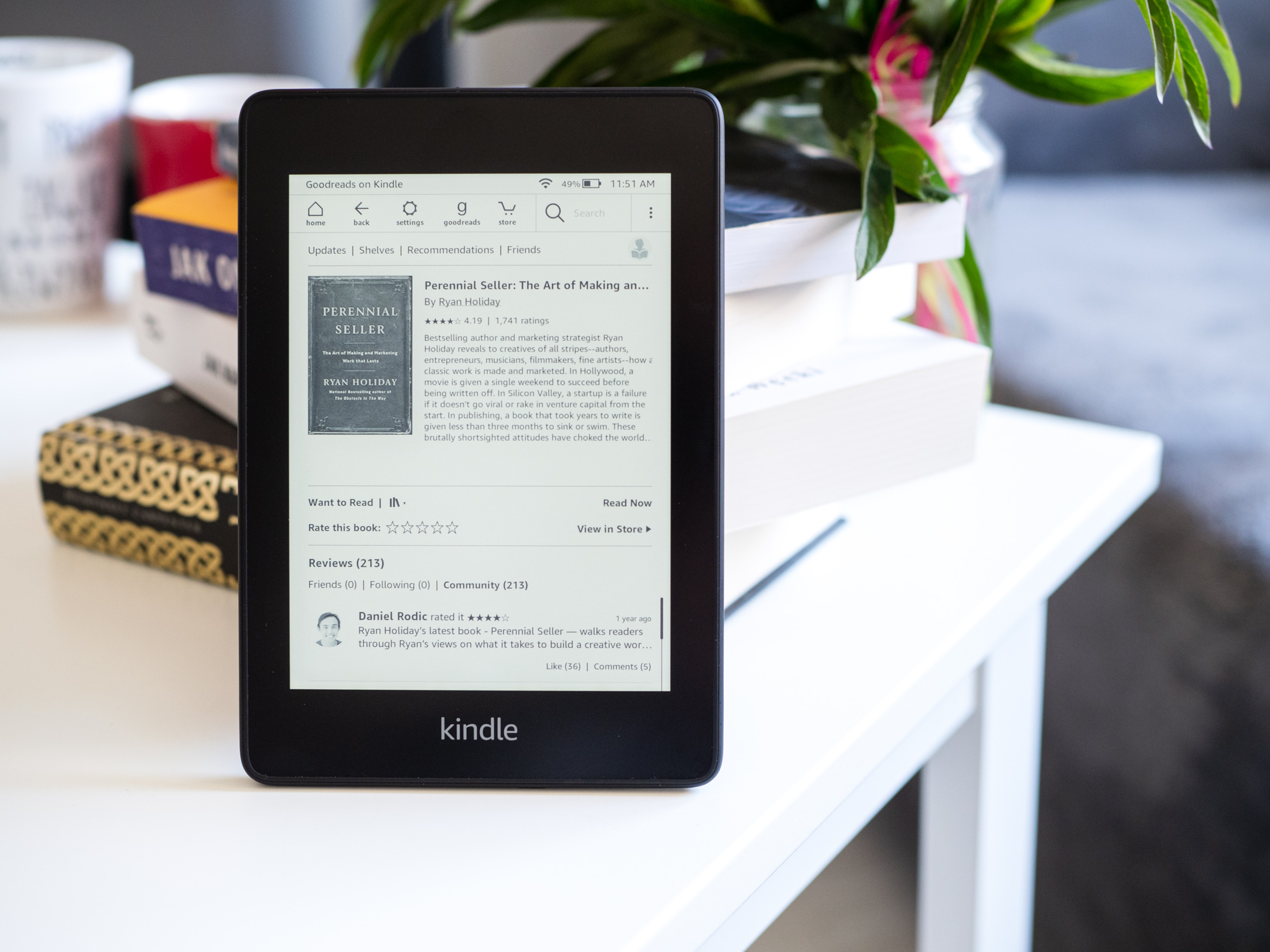 Kindle Paperwhite 4 opinie