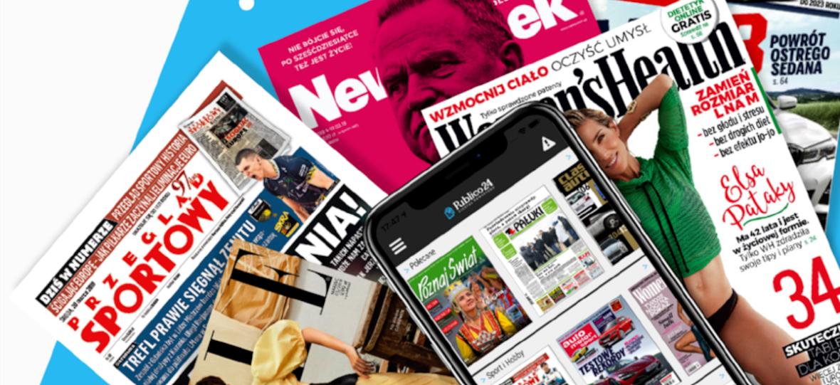 Czekałem na to! Publico24 Newsstand to pierwszy w Polsce Netflix prasowy z gazetami i czasopismami