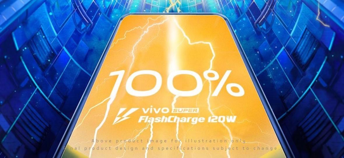 Pełny akumulator smartfona w 13 minut. Tak działa Vivo Super FlashCharge 120W