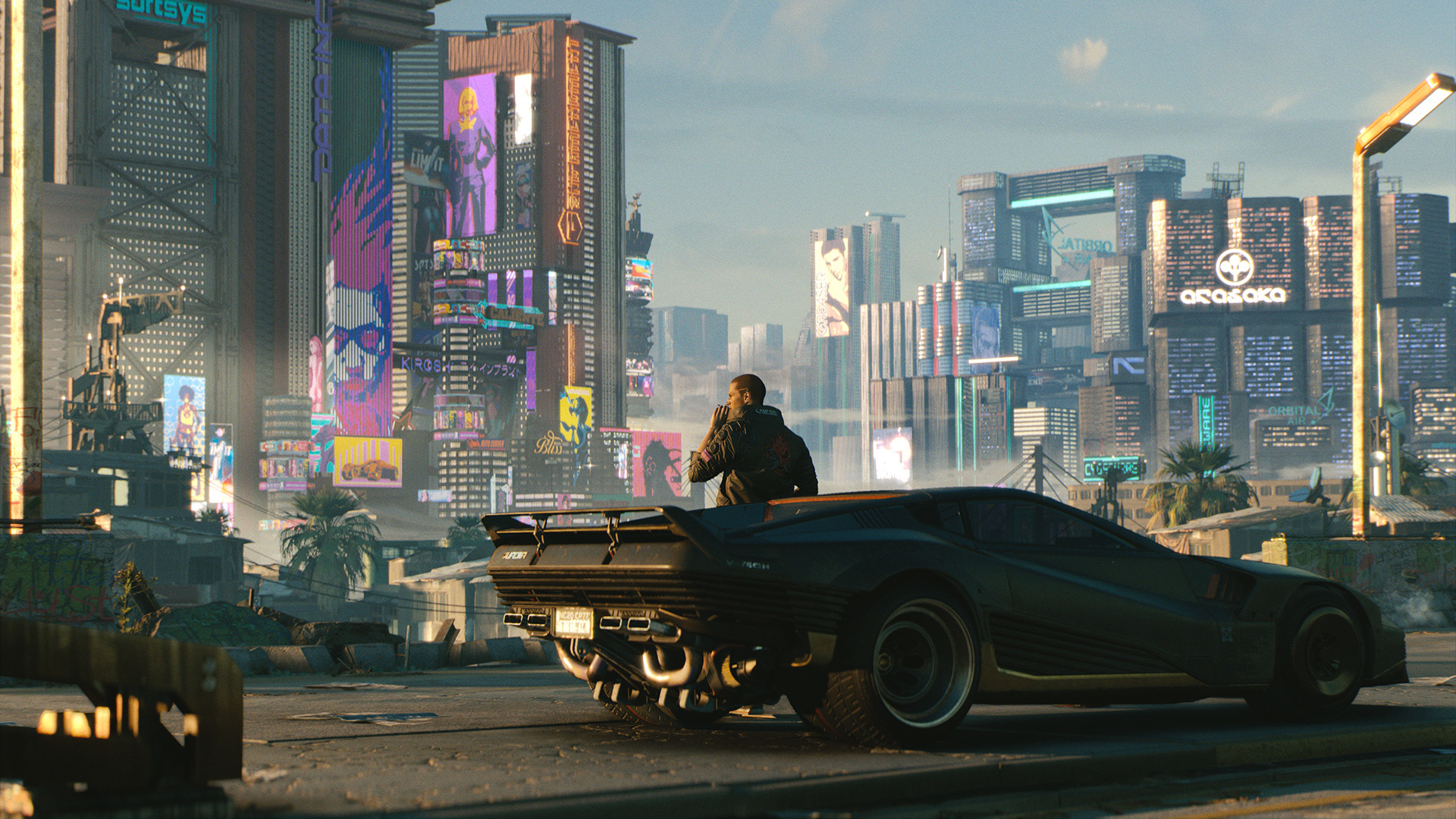 I saw an hour of Cyberpunk 2077 today. It s easy to do preorder